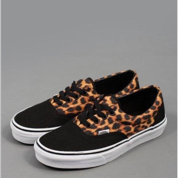 Vans Shoes   Leopard Womens Vans   Poshmark